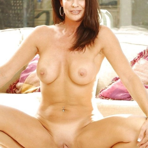 Nude shaved mature women