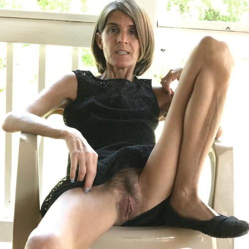 Older women bare breasts