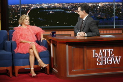 Amy Sedaris - The Late Show with Stephen Colbert: October 23rd 2017