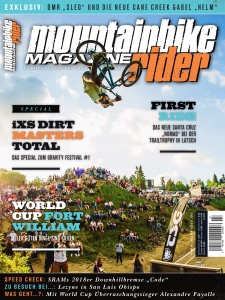 Mountainbike Rider Magazine  Juli (2017)