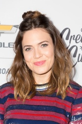 Mandy Moore -         	Create & Cultivate and Chevrolet Host Create & Cultivate 100 Culver City January 25th 2018.