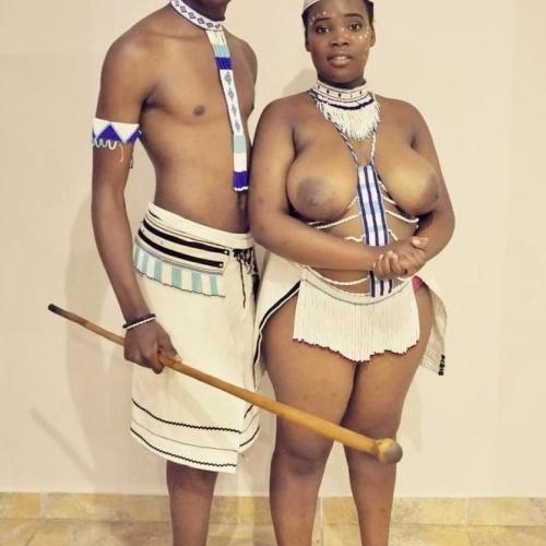 Nude swazi women