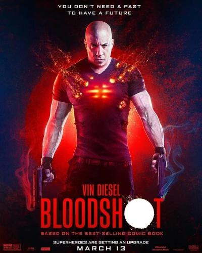 Bloodshot (2020) English V2 720p HDCAM x264 AC3 800MB