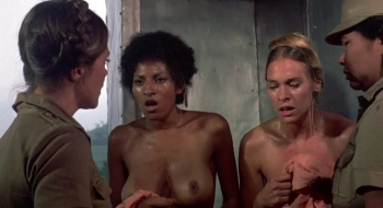 Pam Grier / Margaret Markov / others / Black Mama White Mama / topless / (US 1973) OCXac9J1_t