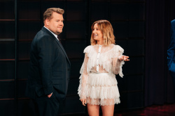 Ashley Tisdale - The Late Late Show with James Corden: May 1st 2019
