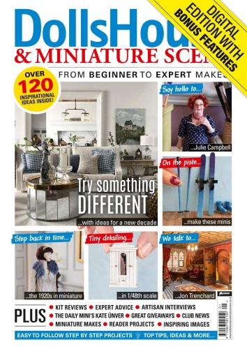 Dolls House & Miniature Scene - Issue 308 - January (2020)