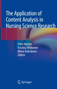 The Application of Content Analysis in Nursing Science Research