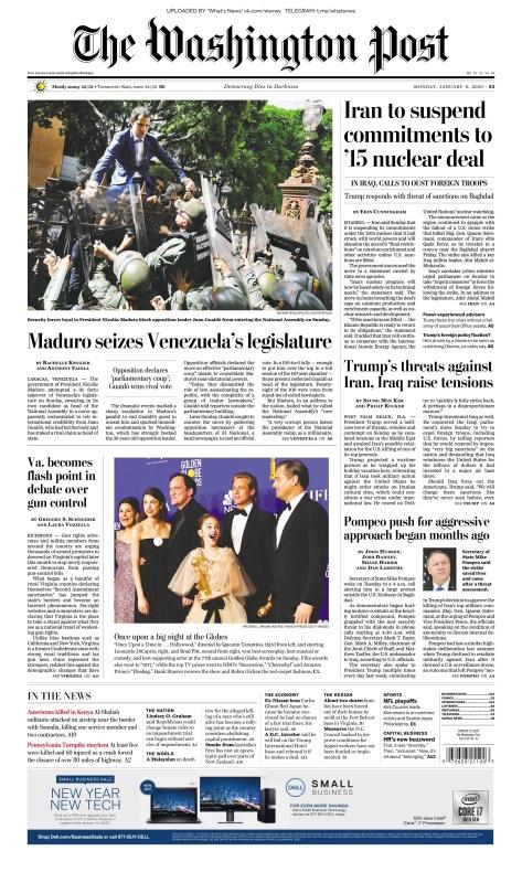 The Washington Post - 06 01 (2020)