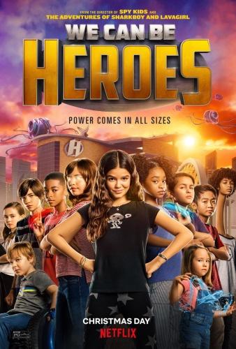 We Can Be Heroes (2020) 1080p HDRip x265 [Dual Audio][Hindi+English]