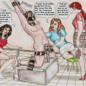 Augustine femdom comics 02