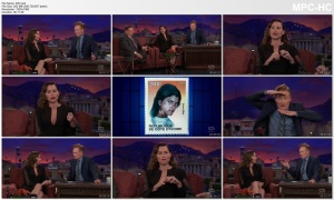 MINNIE DRIVER *cleavage, lowcut* - conan - 3.12.2018