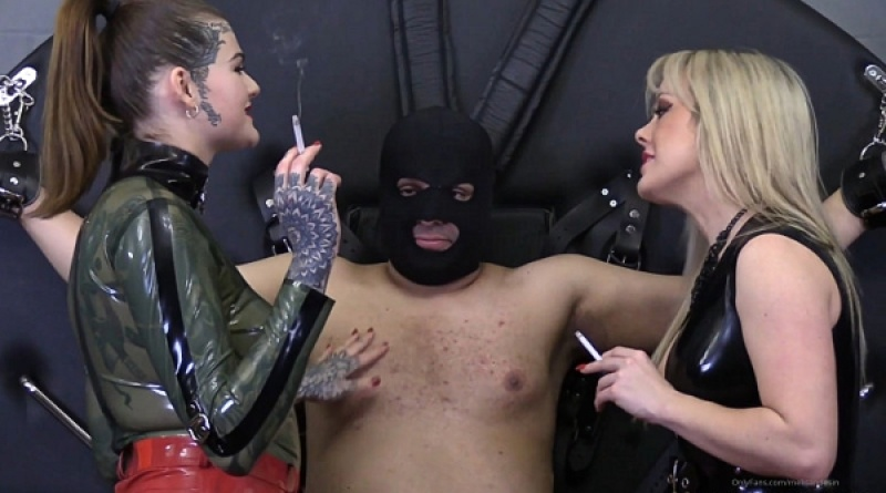 Ashtray for Two - Mistress Tess - Melisande Sin - Watch XXX Online [FullHD 1080P]
