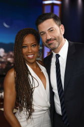 Regina King - Jimmy Kimmel Live: January 17th 2019