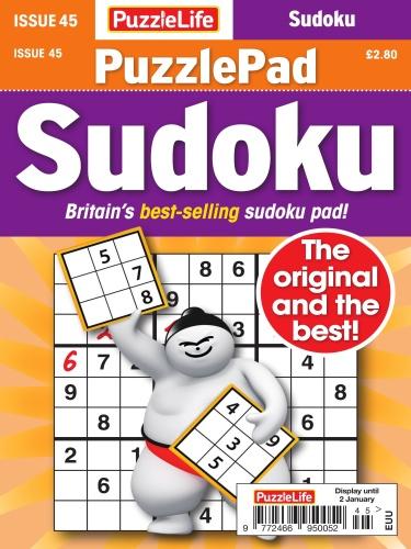 PuzzleLife PuzzlePad Sudoku  05 December (2019)