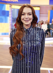 Lindsay Lohan - Good Morning America: January 7th 2019