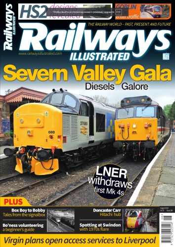 Railways Illustrated - August (2019)