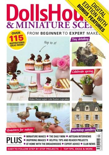Dolls House & Miniature Scene - April (2020)