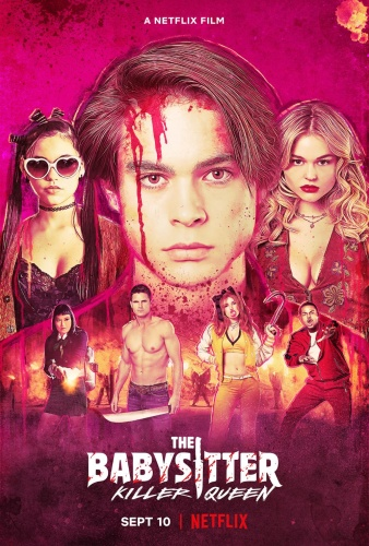 The Babysitter Killer Queen (2020) 1080p WEB-DL x264 [Dual Audio] [Hindi+English]-KMHD