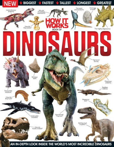 How It Works-Book Of Dinosaurs