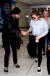 Chloe Moretz at LAX Airport in Los Angeles - 11/29/17