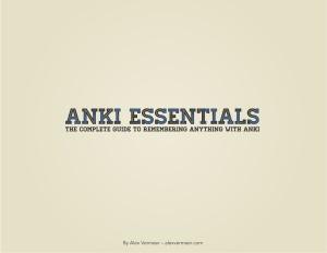 Anki Essentials v1 1