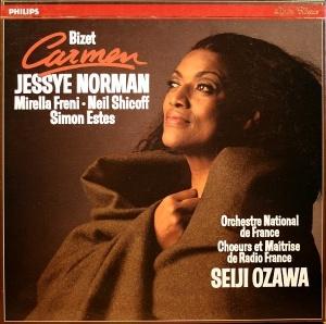 Bizet   Carmen   Orchestre National de France   Ozawa, Norman, Freni, Shicoff   3CD