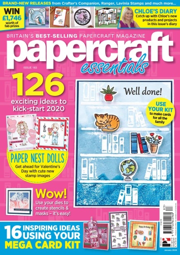 Papercraft Essentials - Issue 183 - January (2020)