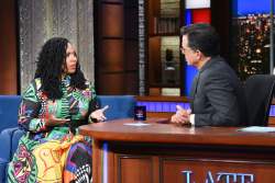 Ayanna Pressley - The Late Show with Stephen Colbert: August 13th 2019