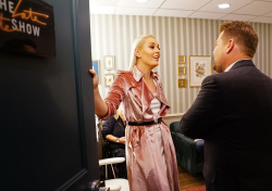 Lindsey Vonn - The Late Late Show with James Corden: March 7th 2018
