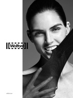 Hilary Rhoda -            (2018) Spring Summer Wolford Campaign.