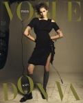 Kaia Gerber -     Vogue Magazine (Italy) May 2020.