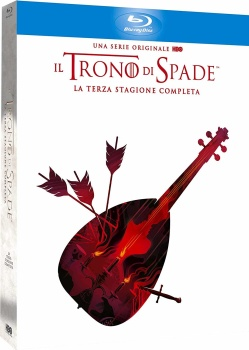 Il Trono Di Spade - Stagione 3 (2013) 5 Full Blu Ray ITA DD 5.1 ENG TrueHD 7.1
