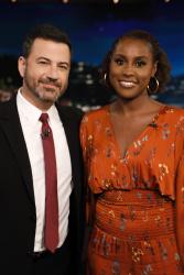 Issa Rae - Jimmy Kimmel Live: September 19th 2018