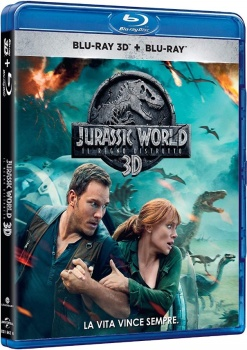 Jurassic World - Il regno distrutto 3D (2018) Full Blu-Ray 3D 43Gb AVCMVC ITA DTS-HD 7.1 ENG DTS-HD MA 7.1 MULTI