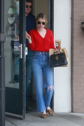 Emma Roberts Out in Los Feliz July 7, 2019