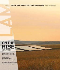 Landscape Architecture Magazine USA - June (2018)