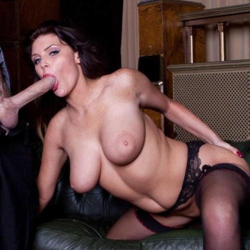 Skinny brunette porn star