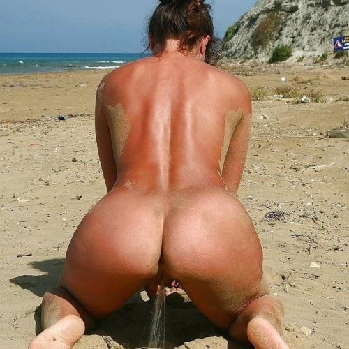 Mature women peeing