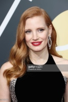 Jessica Chastain - 75th Annual Golden Globe Awards in Beverly Hills 1/7/18