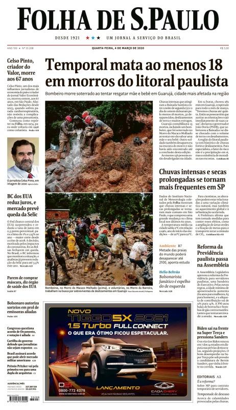 Folha de S 227 o Paulo - 04 03 (2020)