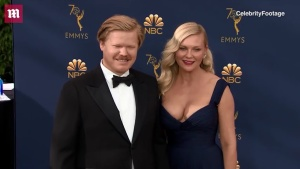Kirsten Dunst & Jesse Plemons arrive on the Emmys red carpet 2018