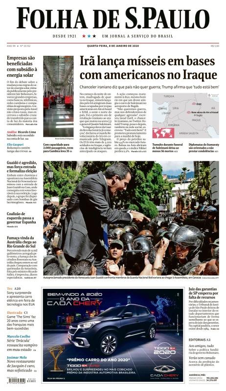 Folha de Sa 771 o Paulo - 08 01 (2020)