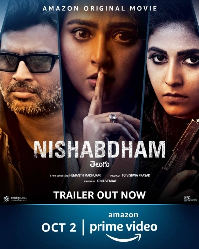 Nishabdham (2020) 1080p HDRip WEB DL AVC Multi-Audio DDP5 1 DUS Exclusive