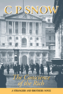 The Conscience of the Rich - C  P  Snow