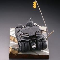 Batman : Batmobile Tumbler in Gotham City figure - Legacy of Revoltech (Revoltech) UsQxCJgX_t