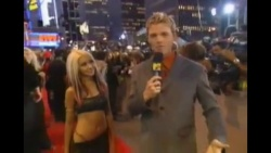Christina Aguilera - 2000 MTV VMA Red Carpet Interview - 9-7-2000