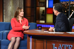Margaret Brennan - The Late Show with Stephen Colbert: February 20th 2019