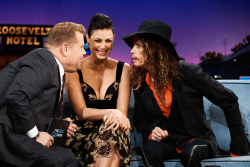 Morena Baccarin - The Late Late Show with James Corden: May 17th 2018