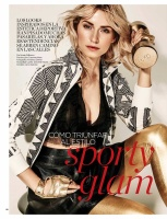 Lena Gercke -                       Vanidades Magazine (Chile) May 2018.