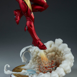 Iron Man Extremis Mark II - Statue (Sideshow) F9shTQ0B_t